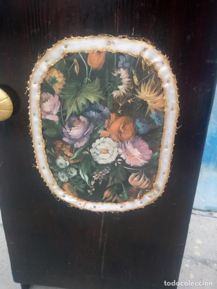 Herramientas de relojes: Antiguo armario de relojero,con 27 cajones abajo y en la parte de arriba bandeja y 1 cajón,siglo xix - Foto 8 - 200161138