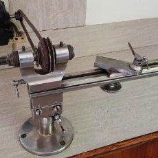 Herramientas de relojes: TORNO UNIVERSAL BOLEY & LEINEN - REFORM DE 8 MM. + MOTOR 220 V. (VER DESCRIPCIÓN). Lote 200866653