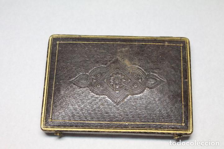 Herramientas de relojes: ESTUCHE PARA RELOJ DE BOLSILLO DE Sra. S.XIX - Foto 3 - 204092802