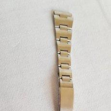 Herramientas de relojes: 135-CADENA RELOJ EN ACERO 100% INOXIDABLE PARA PASADOR DE 16 MM.. Lote 205133537