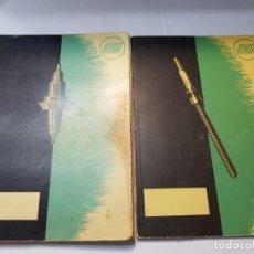 Herramientas de relojes: CATALOGOS DE RELOJERO RONDA PARA CALIBRES DE RELOJ AÑOS 1965-66. Lote 205342431