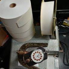 Herramientas de relojes: GREINER MODIFICADA PARA ROYO DE PAPEL MAS GRANDE+ 4 ROYOS GRANDES DE RECAMBIO (3 FOTOS). Lote 205685810