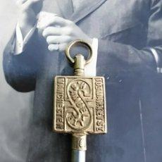 Herramientas de relojes: LLAVE DE RELOJ DE BOLSILLO. Lote 206179361