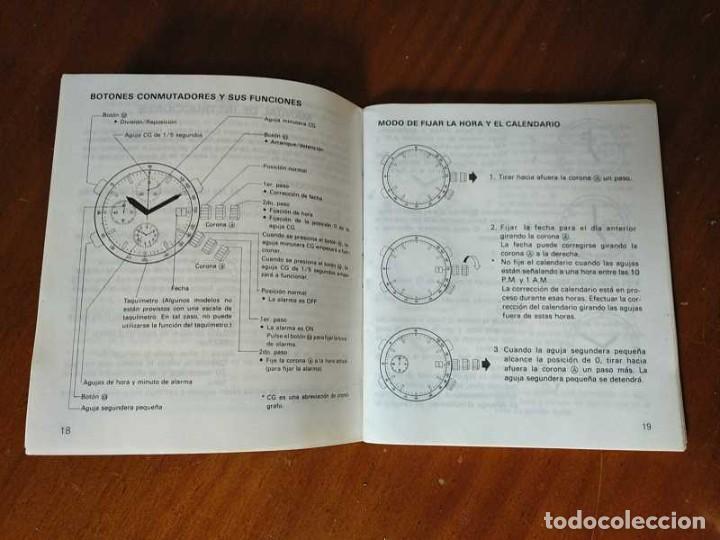 Herramientas de relojes: MANUAL DE INSTRUCCIONES RELOJ RACER QUARTS HFA WATCH - Foto 3 - 206888083