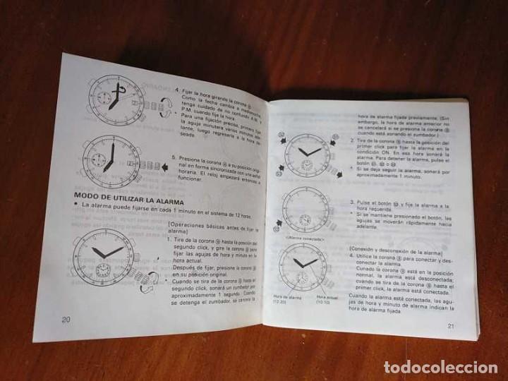 Herramientas de relojes: MANUAL DE INSTRUCCIONES RELOJ RACER QUARTS HFA WATCH - Foto 4 - 206888083
