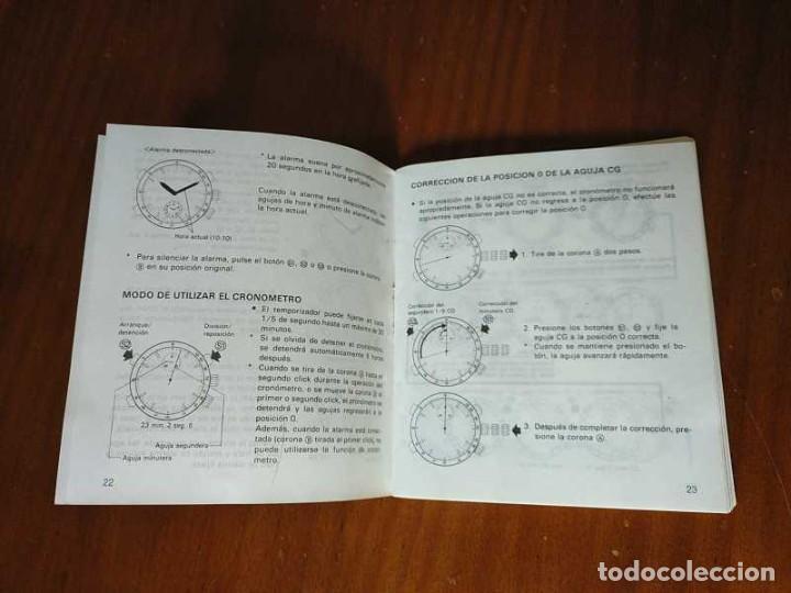 Herramientas de relojes: MANUAL DE INSTRUCCIONES RELOJ RACER QUARTS HFA WATCH - Foto 5 - 206888083
