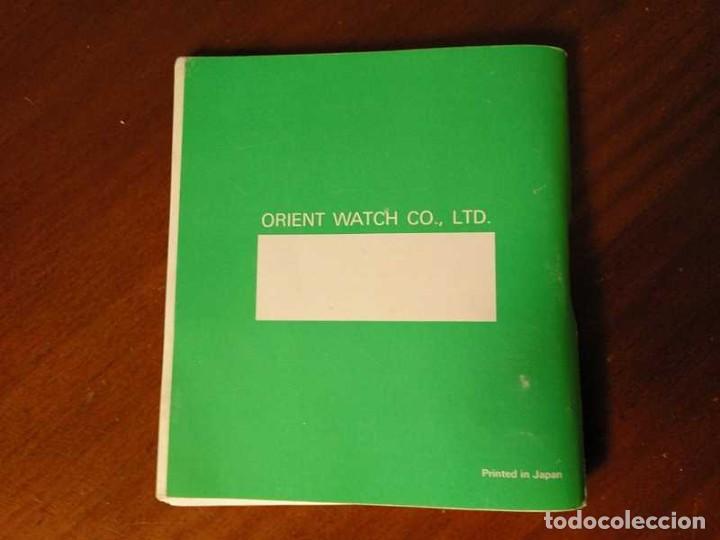 Herramientas de relojes: MANUAL DE INSTRUCCIONES RELOJ RACER QUARTS HFA WATCH - Foto 12 - 206888083