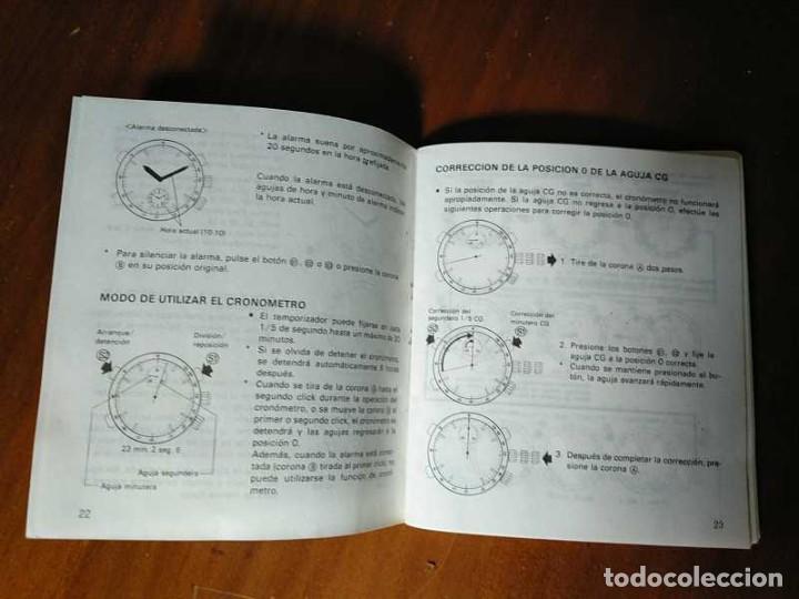 Herramientas de relojes: MANUAL DE INSTRUCCIONES RELOJ RACER QUARTS HFA WATCH - Foto 32 - 206888083