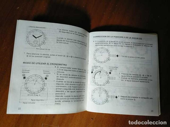 Herramientas de relojes: MANUAL DE INSTRUCCIONES RELOJ RACER QUARTS HFA WATCH - Foto 33 - 206888083