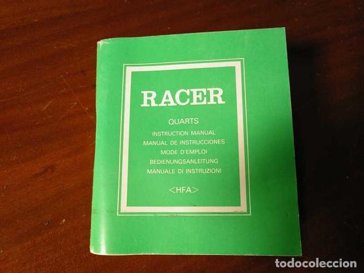 Herramientas de relojes: MANUAL DE INSTRUCCIONES RELOJ RACER QUARTS HFA WATCH - Foto 34 - 206888083