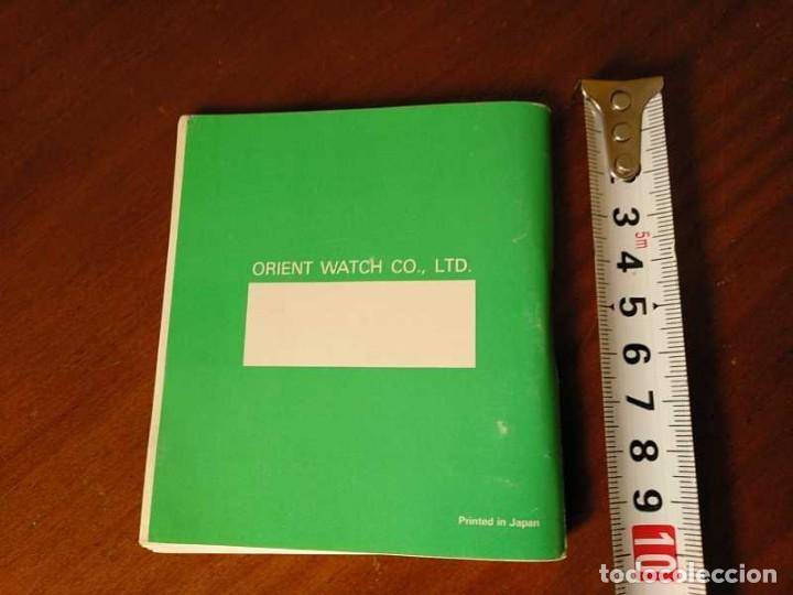 Herramientas de relojes: MANUAL DE INSTRUCCIONES RELOJ RACER QUARTS HFA WATCH - Foto 38 - 206888083