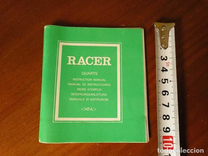 Herramientas de relojes: MANUAL DE INSTRUCCIONES RELOJ RACER QUARTS HFA WATCH - Foto 39 - 206888083