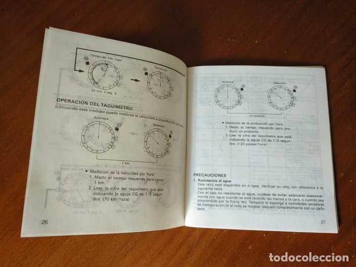 Herramientas de relojes: MANUAL DE INSTRUCCIONES RELOJ RACER QUARTS HFA WATCH - Foto 51 - 206888083