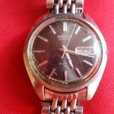 Ferramentas para relógios: RELOJ SEIKO AUTOMÁTICO 19 JEWELS PARA PIECES .MIDE 35 MM DIAMETRO. Lote 209595760