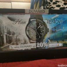 Herramientas de relojes: PUBLICIDAD DUWARD. Lote 210216072