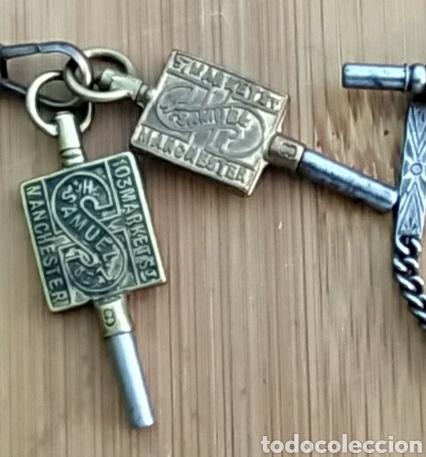 Herramientas de relojes: LLAVES ANTIGUAS DE RELOJ DE BOLSILLO - Foto 3 - 212117853