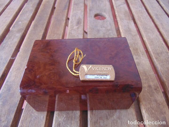CAJA DE RELOJ VICEROY LINCE 1951 REFERENCIA AM3207-28 CAJA Y BRAZALETE DE ORO 18 K 373.000 PESETAS (Relojes - Herramientas y Útiles de Relojero )