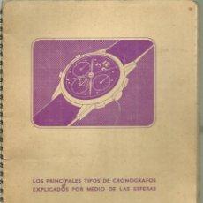 Herramientas de relojes: 4068.- RELOJES SUIZOS-LOS PRINCIPALES TIPOS DE CRONOGRAFOS EXPLICADOS POR MEDIO DE LAS ESFERAS. Lote 215450172