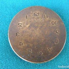 Outils d'horloger: TROQUEL PARA HACER ESFERAS DE RELOJ. Lote 216527937