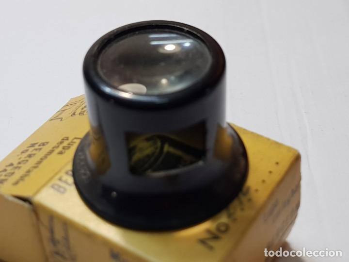 Herramientas de relojes: Relojero Lupa Bergeon ref.4422 N°2 ,1/2 en caja original - Foto 4 - 218863980