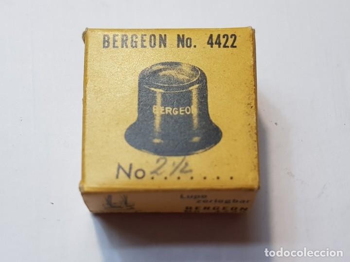 Herramientas de relojes: Relojero Lupa Bergeon ref.4422 N°2 ,1/2 en caja original - Foto 5 - 218863980