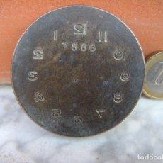 Herramientas de relojes: ANTIGUA PIEZA DE RELOJERO. Lote 219458130