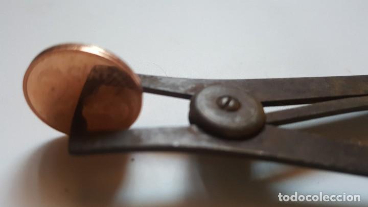 Herramientas de relojes: ANTIGUO CALIBRADOR DE RELOJERO - Foto 5 - 221737196