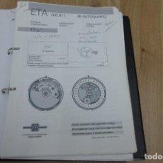 Herramientas de relojes: ETA 205.911. COMUNICACIÓN TÉCNICA. Lote 221988956