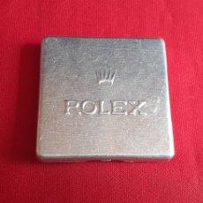 Herramientas de relojes: CAJA METALICA ROLEX ORIGINAL. Lote 222397911