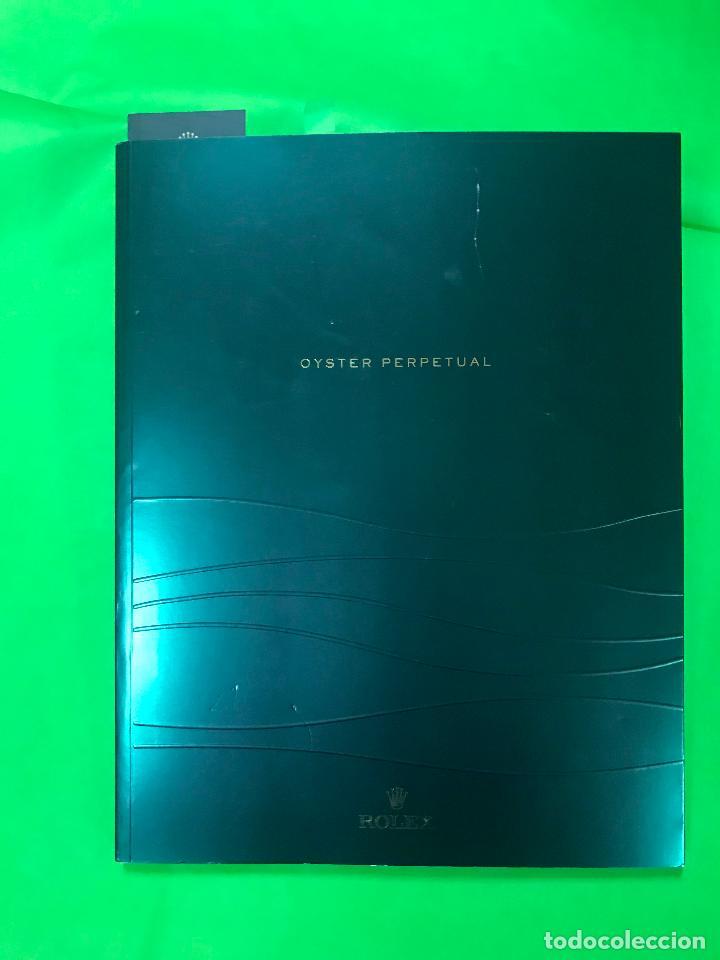 Herramientas de relojes: CATALOGO DE RELOJES ROLEX OYSTER PERPETUAL 2011 Y TUDOR 2007 - Foto 2 - 223576457