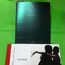 Herramientas de relojes: CATALOGO DE RELOJES ROLEX OYSTER PERPETUAL 2011 Y TUDOR 2007. Lote 223576457
