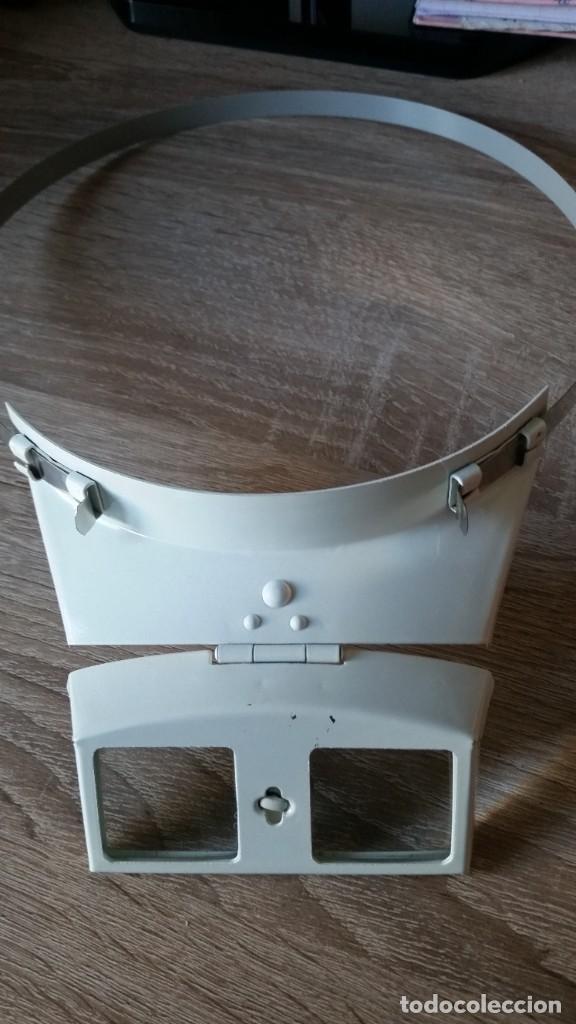 Herramientas de relojes: ANTIGUIO VISOR DE TRABAJAR NOS RELOG ANOS 40,50 - Foto 3 - 226345685