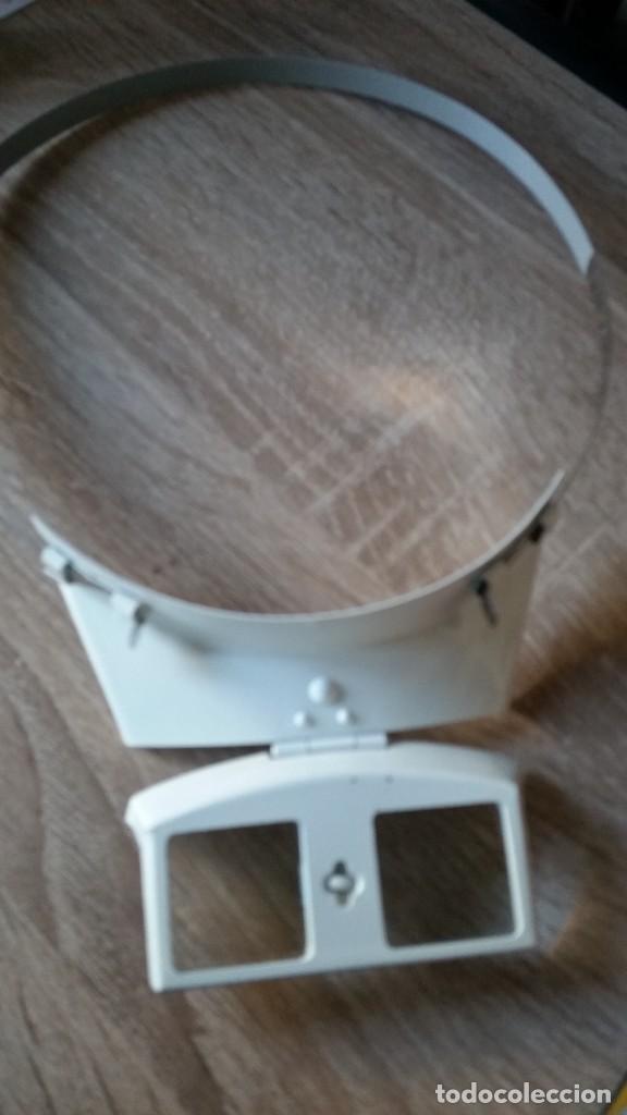 Herramientas de relojes: ANTIGUIO VISOR DE TRABAJAR NOS RELOG ANOS 40,50 - Foto 8 - 226345685