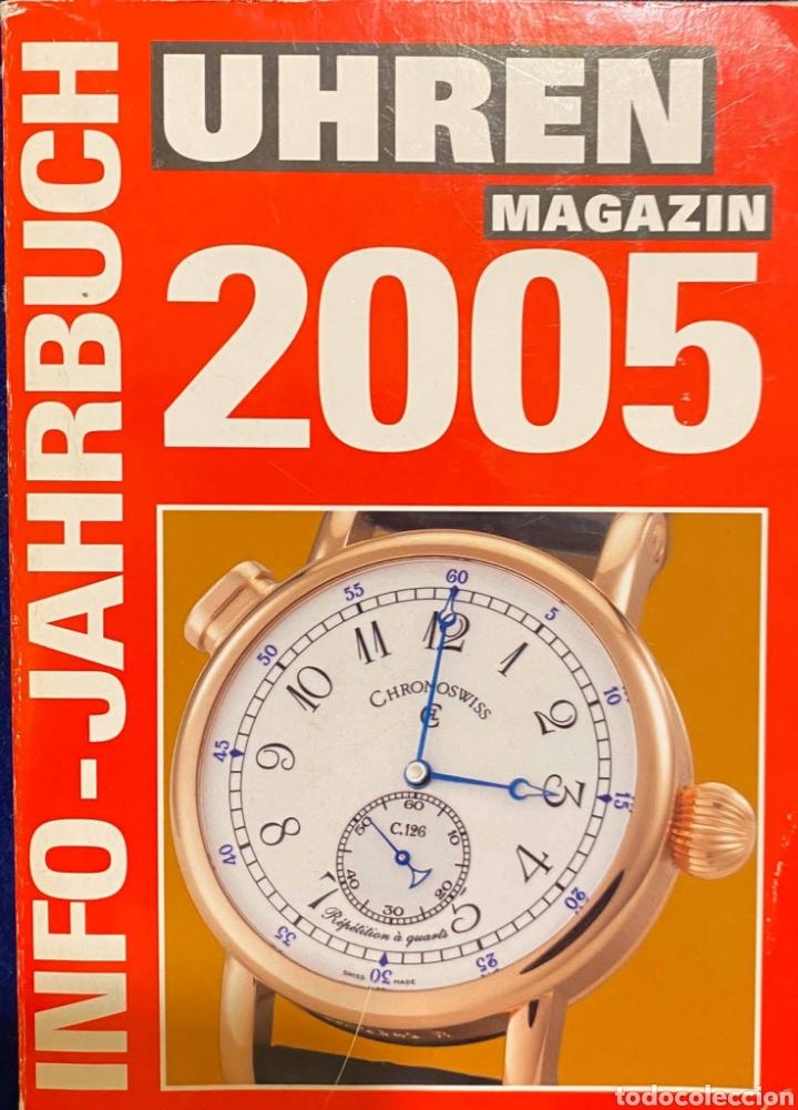 LIBRO DE BOLSILLO INFORMATIVO ALEMÁN SOBRE RELOJES (Relojes - Herramientas y Útiles de Relojero )
