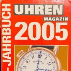 Herramientas de relojes: LIBRO DE BOLSILLO INFORMATIVO ALEMÁN SOBRE RELOJES. Lote 234970730