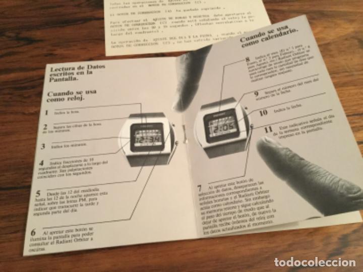 Herramientas de relojes: CATALOGO INSTRUCCIONES RELOJ RADIANT ORBITER. RETRO VINTAGE - Foto 4 - 235131720