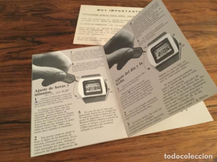 Herramientas de relojes: CATALOGO INSTRUCCIONES RELOJ RADIANT ORBITER. RETRO VINTAGE - Foto 6 - 235131720
