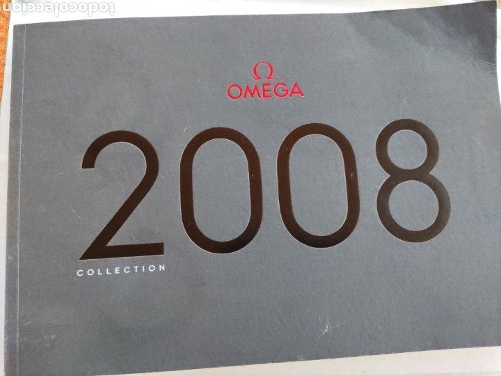 OMEGA REVISTA CATÁLOGO 2008 (Relojes - Herramientas y Útiles de Relojero )