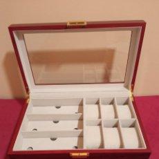 Strumenti di orologiaio: JOYERO DE MADERA. Lote 239884055