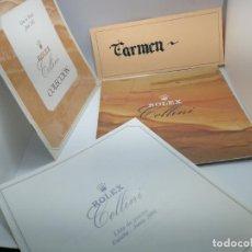 Herramientas de relojes: CATALOGO DE RELOJES ROLEX CELLINI Y LISTAS DE PRECIOS VINTAGE. Lote 241331975