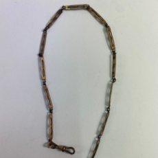 Herramientas de relojes: JOY-1396. LEONTINA DE METAL DORADO. PRINCIPIOS S.XX.. Lote 244181190