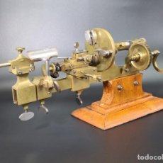 Herramientas de relojes: ANTIGUO TORNO DE RELOJERO S.XIX. Lote 244655680
