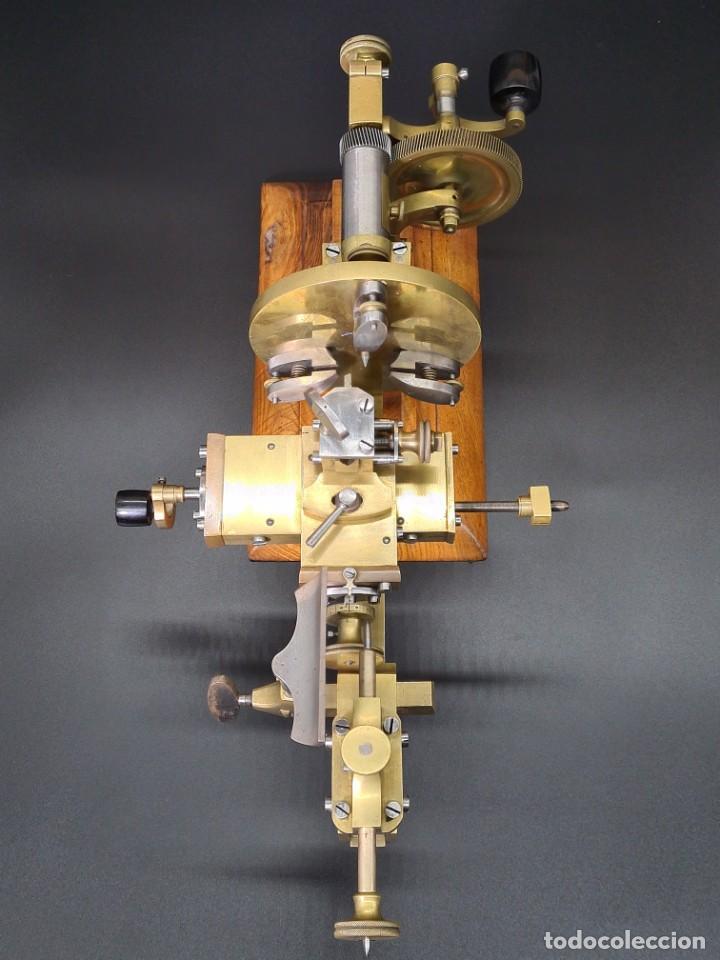 Herramientas de relojes: Antiguo Torno de Relojero S.XIX - Foto 22 - 244655680