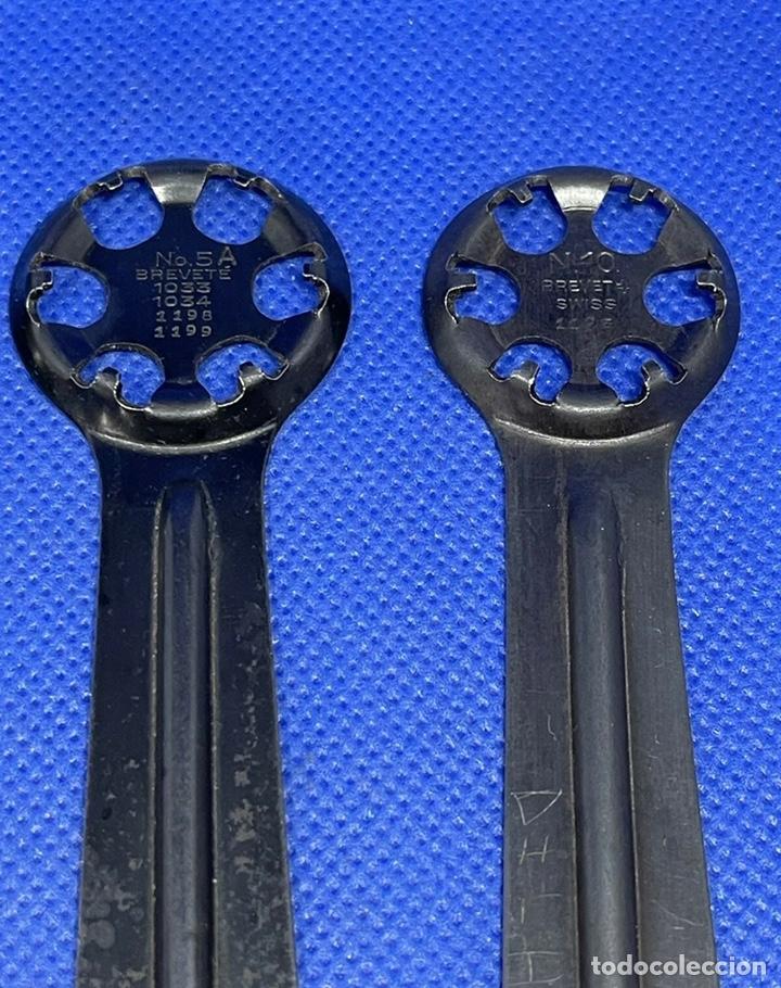 Herramientas de relojes: Herramienta Abridor Relojes Eterna Vintage Tools Caso Trasero Lote - Foto 2 - 245098900