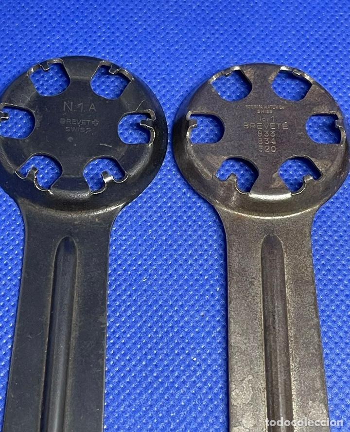 Herramientas de relojes: Herramienta Abridor Relojes Eterna Vintage Tools Caso Trasero Lote - Foto 3 - 245098900