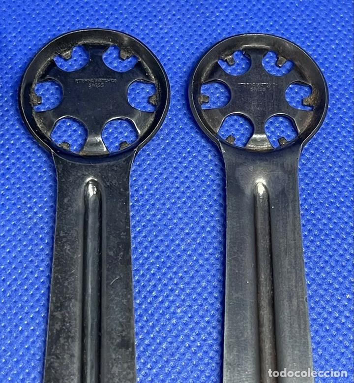 Herramientas de relojes: Herramienta Abridor Relojes Eterna Vintage Tools Caso Trasero Lote - Foto 5 - 245098900
