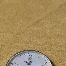 Strumenti di orologiaio: MAQUINA DE CUARZO TISSOT MODELO 1853 ESFERA EN NACAR CON CALENDARIO. Lote 251596835