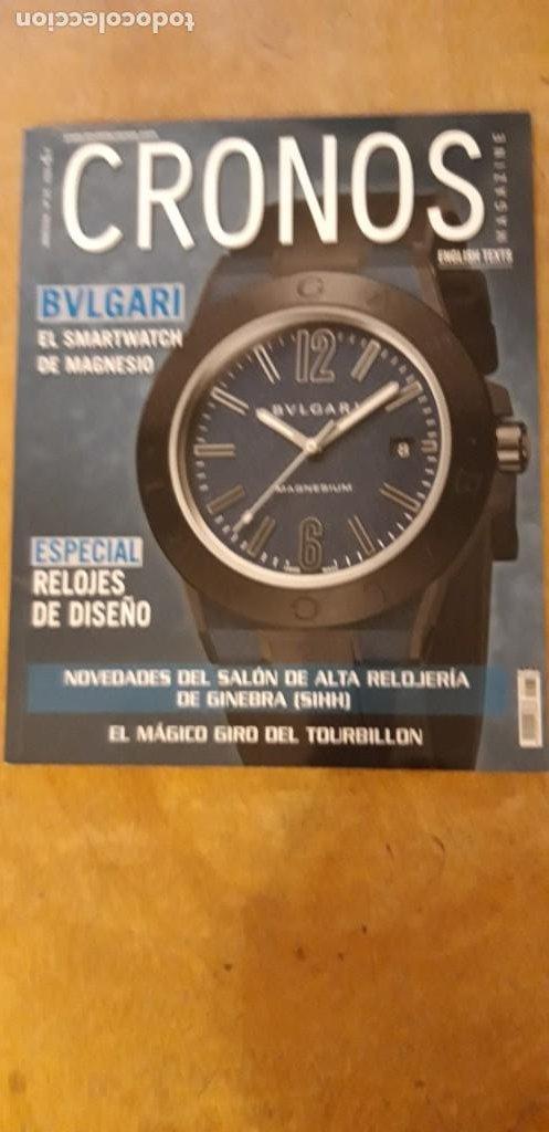 1 ** REVISTA CRONOS MAGAZINE.** Nº 171 - 2016 (Relojes - Herramientas y Útiles de Relojero )