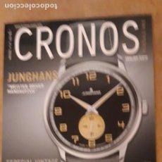 Herramientas de relojes: 1 ** REVISTA CRONOS MAGAZINE.** Nº 175 - 2016. Lote 253916590