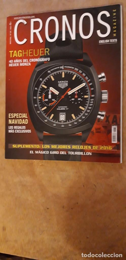 1 ** REVISTA CRONOS MAGAZINE.** Nº 176- 2016 ESPECIAL NAVIDAD (Relojes - Herramientas y Útiles de Relojero )